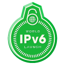 World IPv6 Launch Badge