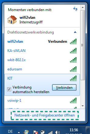 Figure 8: Wifi Networks